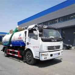 8m3 vacuum fecal truck