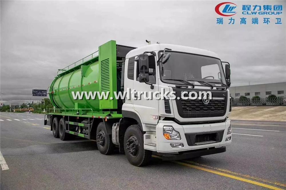 Big sewage suction trucks