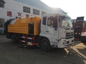DFAC Kinrun 12m3 High pressure jetting sewage suction truck