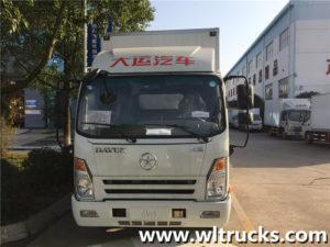 Dayun 3 ton freezer van box truck
