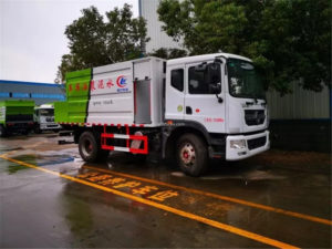 Dongfeng 10 ton cement paste spray truck