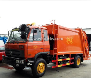 Dongfeng 12m3 Refuse Collector Compactor Garbage Truck