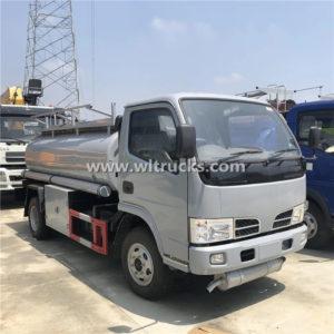 Dongfeng 5000 liter Fuel Tank Truck