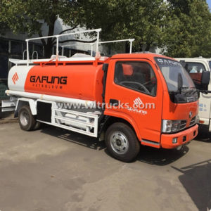 Dongfeng 5cbm Oil Tank Truck with Fuel Dispenser