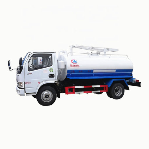 Dongfeng 5cbm mini septic tank suction truck