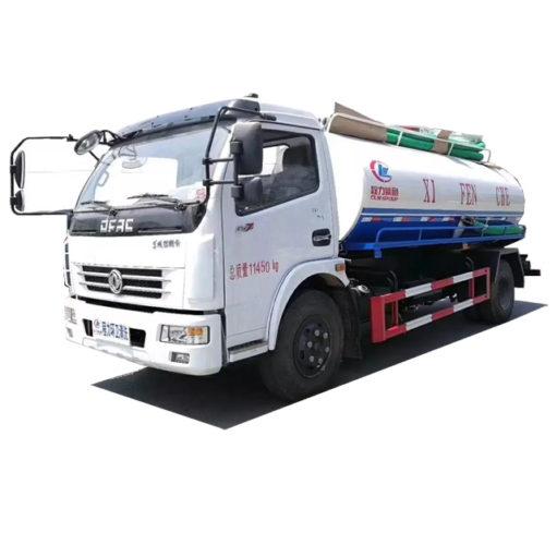 Dongfeng 8m3 vacuum fecal truck