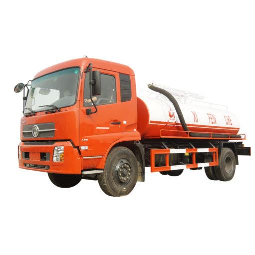 Dongfeng Kinrun 10 ton to 15 ton vacuum Fecal suction truck