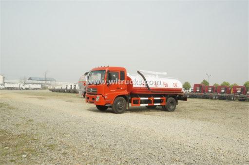 Dongfeng Kinrun 10 ton vacuum Fecal suction truck