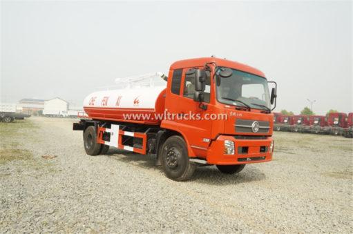 Dongfeng Kinrun 15 ton vacuum Fecal suction truck