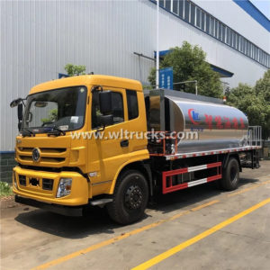 Dongfeng brand 10000 Liters Bitumen Tank Asphalt Distributor Truck