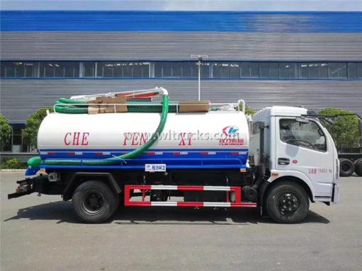 Dongfeng vacuum fecal truck
