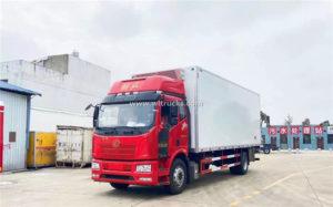 FAW 15 ton 7.5 meters Frozen truck