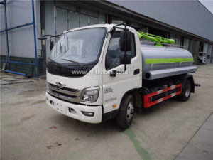 Forland 3000liters Fecal suction truck