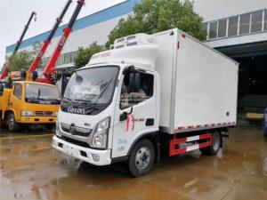 Foton 5 ton Frozen meat truck