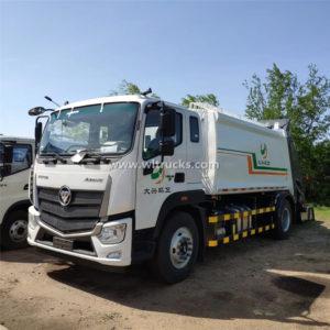 Foton Aumark 14cbm waste rubbish compactor truck