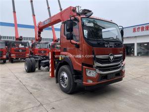 Foton truck crane