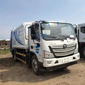 Foton waste garbage compactor truck