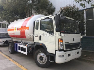 HOWO 15m3 LPG Gas Dispenser Truck