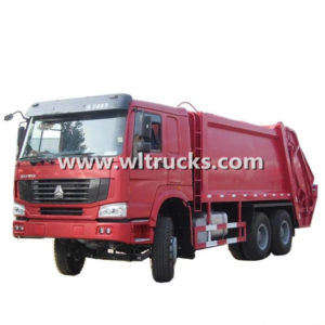 HOWO 16tons Compactor Garbage Truck