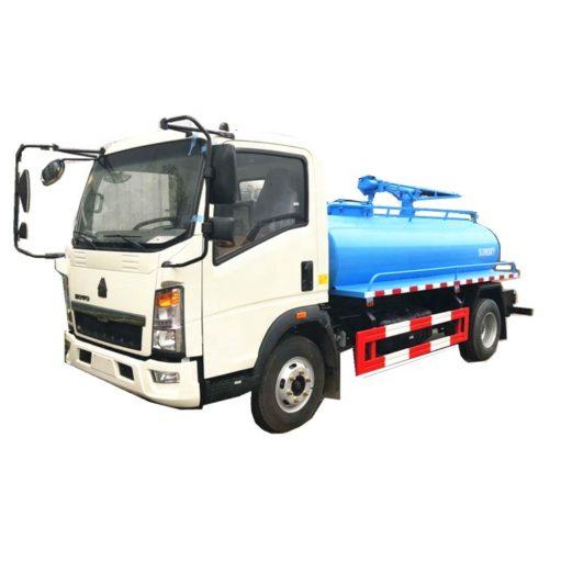 HOWO 5000liters septic tank truck