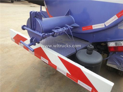 HOWO 5000liters septic tank trucks