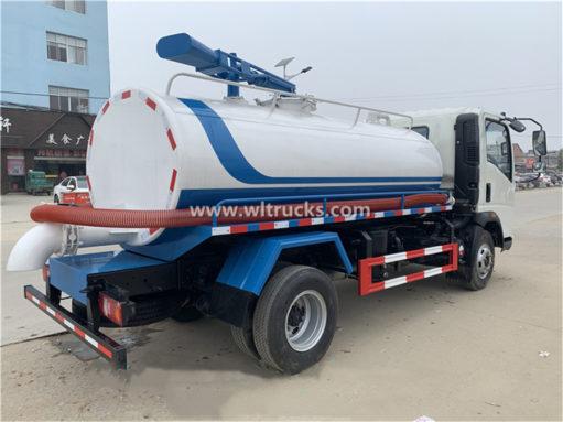 Howo 8000 liter vacuum fecal suction truck