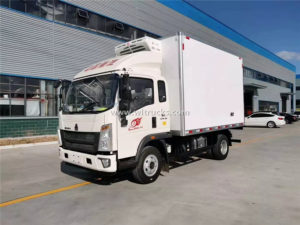 Howo refrigerated truck
