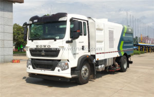 Howo vacuum cleaner truck