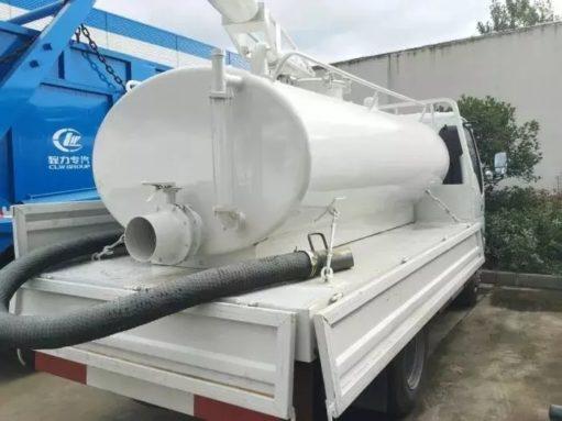 ISUZU 5000L vacuum Fecal truck