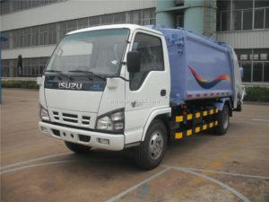 Isuzu 600P 5cbm Garbage Compactor Trucks