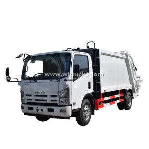Isuzu 8 ton Rear Loader Refuse Compactor Trucks