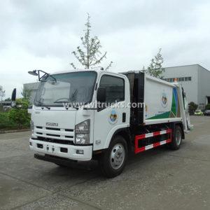 Isuzu 8cbm Rear Loader Compactor rubbish Truck