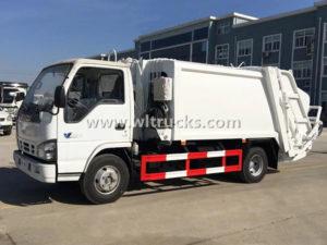 Isuzu 8m3 Compactor Waste Collector truck