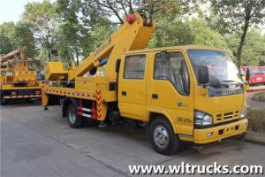 Isuzu Double Row Seat 16 meters Straight Arm Aerial Work Truck