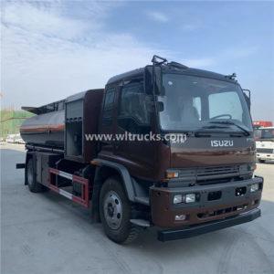 Isuzu Ftr 10000 liters aircraft fuel refueling truck