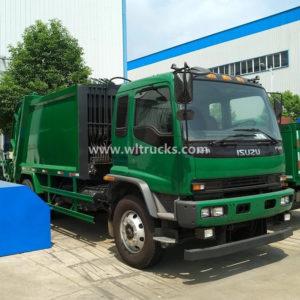 Isuzu ftr 15m3 Rear Loading Refuse Garbage Compactor Truck