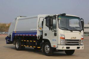 JAC 5cbm Compactor Waste Truck
