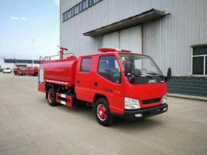 JMC 3000l fire water tanker truck