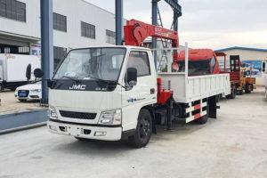 JMC 3mt crane truck