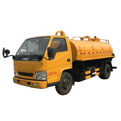 JMC 5000 liter toilet dredge truck
