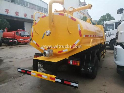 JMC 5000 liter toilet dredge trucks