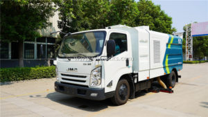 JMC 6 ton vacuum cleaner sweeper truck