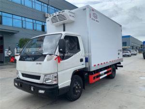 JMC Shunda van box refrigerator truck