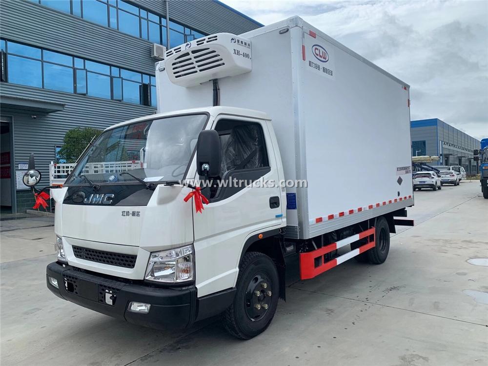 HOWO 4x2 Refrigerator Truck/ Refrigerator Cooling Van Supplier