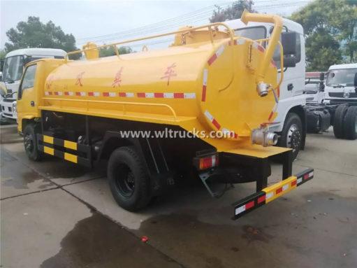 JMC toilet dredge truck