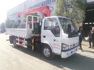 Japan Cargo Crane Truck