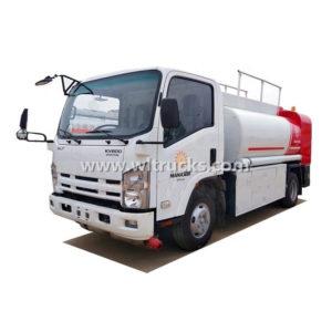 Japan Isuzu Mobile Diesel Dispenser Truck