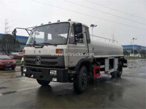 RHD 15000 liters Stainless steel drinking water Transport truck