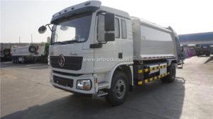 Shacman 12m3 rubbish compactor truck