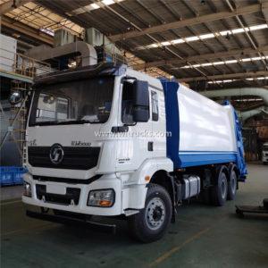 Shacman 18cbm waste garbage compactor truck